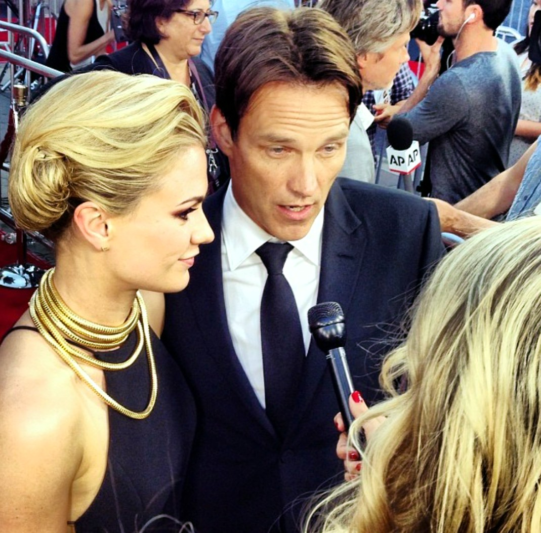 True Blood 7 + Anna Paquin + Stephen Moyer + premiere