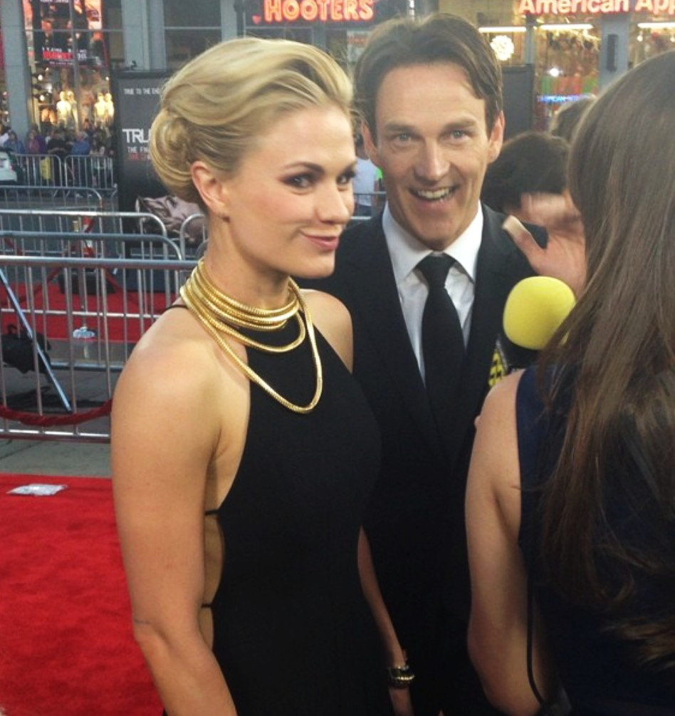 True Blood 7 + Anna Paquin + Stephen Moyer