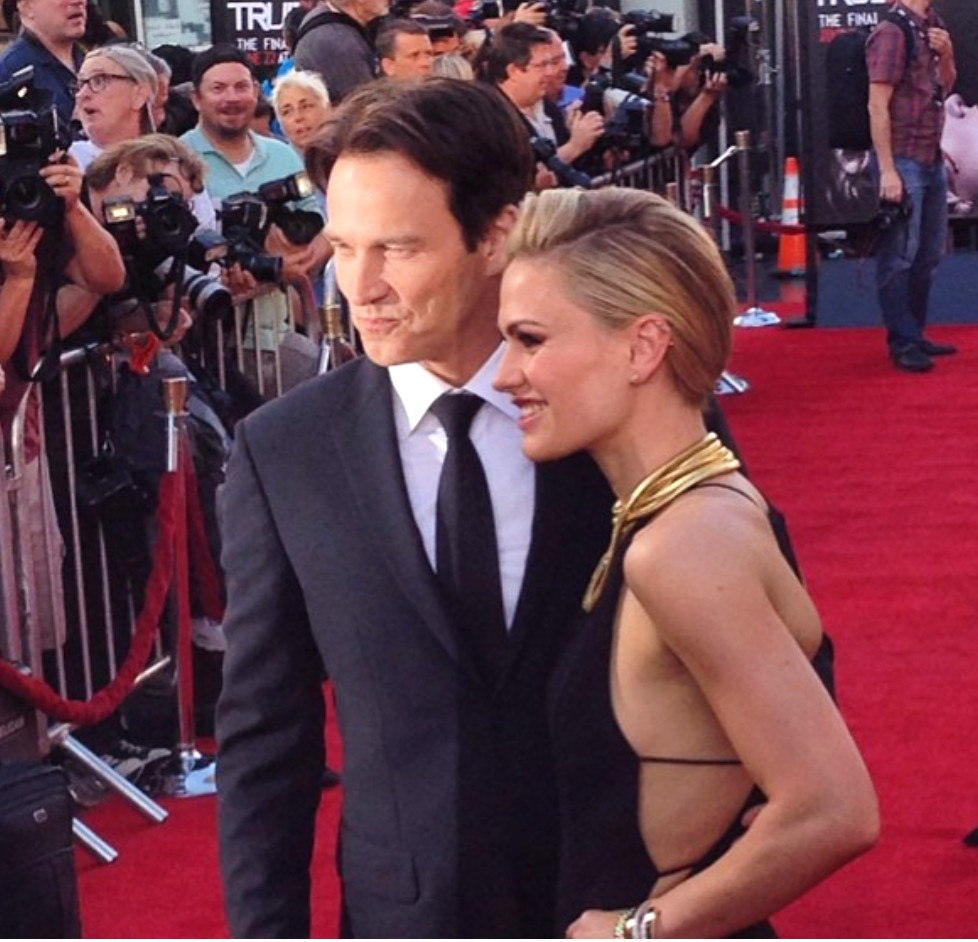 True Blood 7 + Stephen Moyer + Anna Paquin