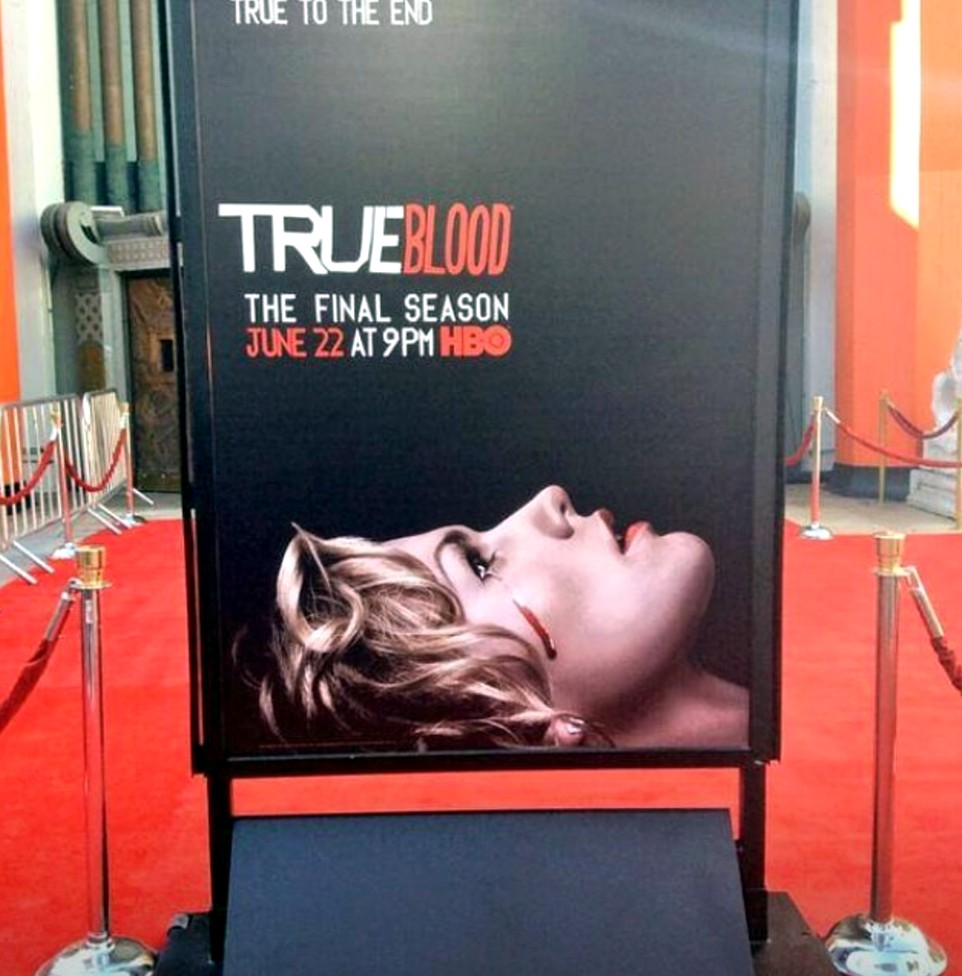 True Blood 7 + premiere + red carpet