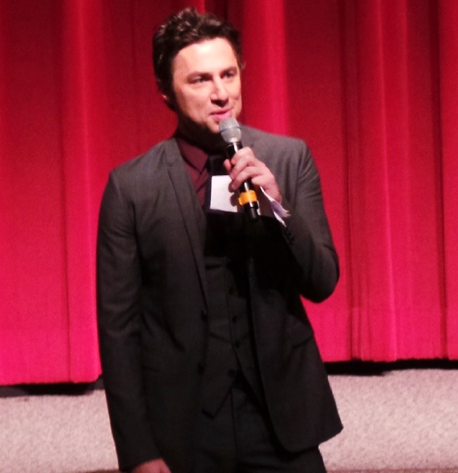 Wish I Was Here + Zach Braff + premiere