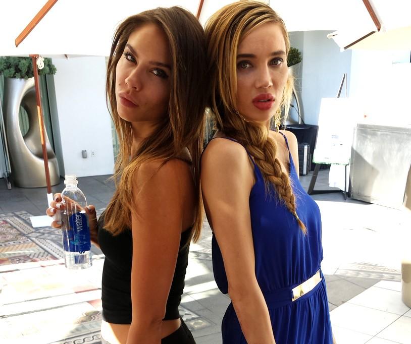 BAFTA-Tea-Party-2014-Aleksandra-Ericksson-Natasha-Galkina