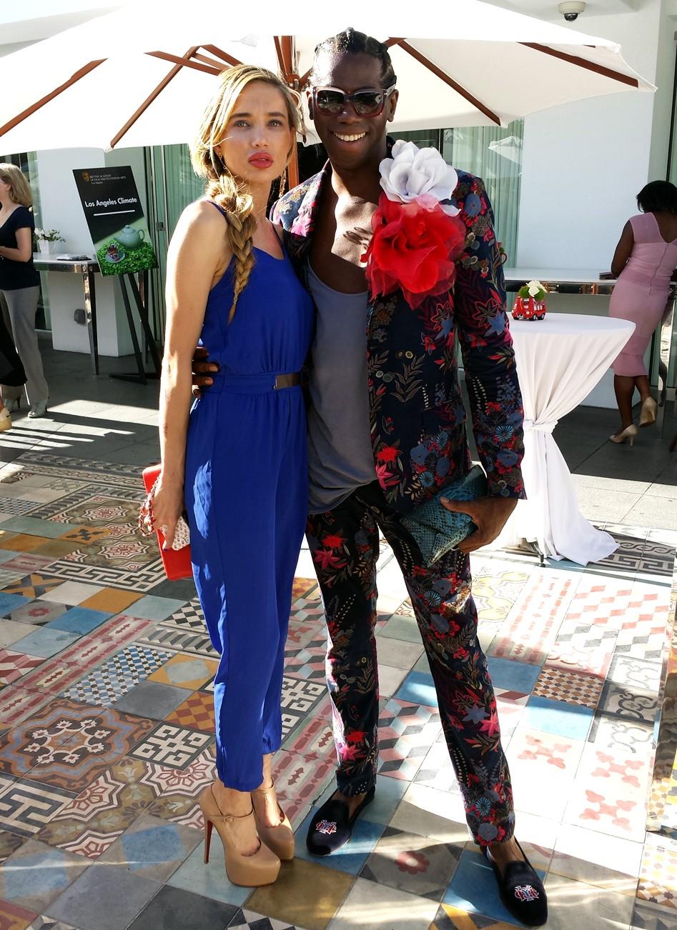 BAFTA-Tea-Party-2014-Natasha-Galkina-Lady-J