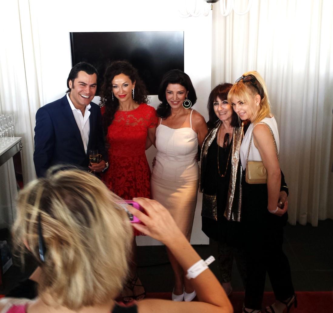 BAFTA-Tea-Party-2014-Sofia-Milos