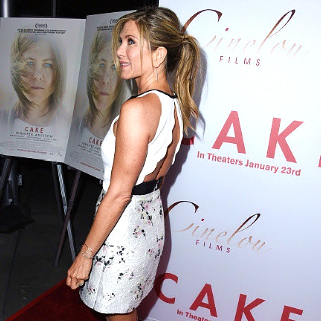 Cake Movie Premiere, Jennifer Aniston, LA, red carpet