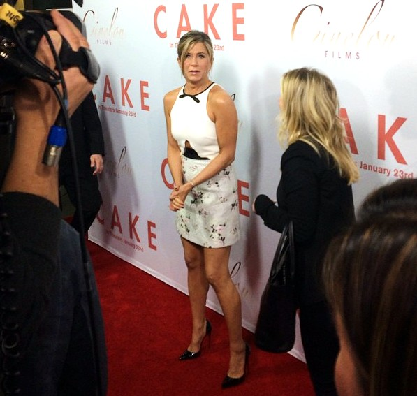 Cake Movie Premiere, red carpet, Los Angeles, LA