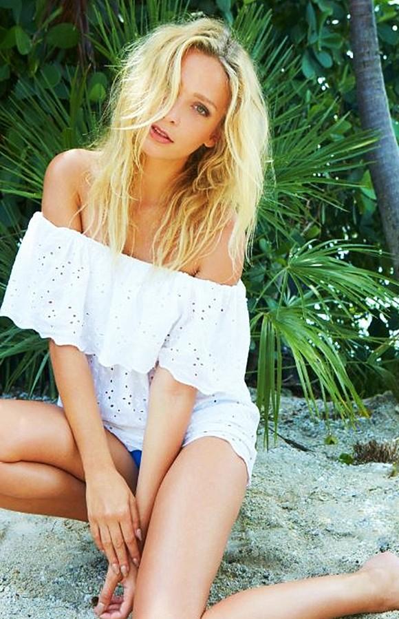 Karol Marie Morrison beach life