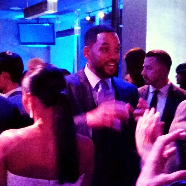 Focus movie premiere, after party, Will Smith