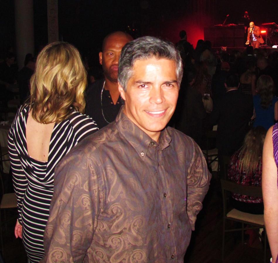 Global Green, Oscar party, Esai Morales