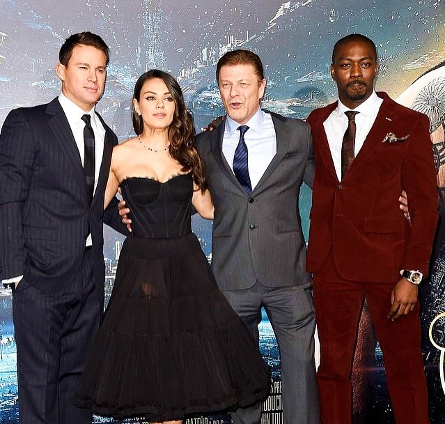 Jupiter Ascending, Channing Tatum, Mila Kunis, Sean Bean, David Ajala