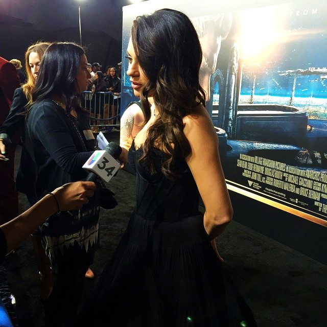 Jupiter Ascending, Mila Kunis, movie, premiere