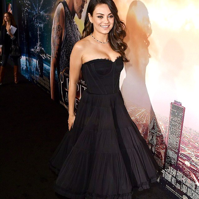 Jupiter Ascending, movie, premiere, Mila Kunis