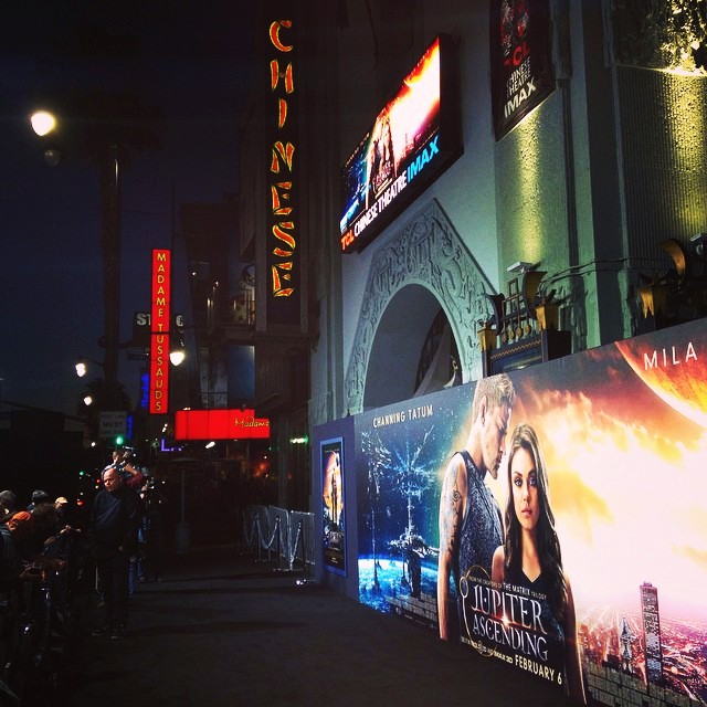 Jupiter Ascending, movie, premiere