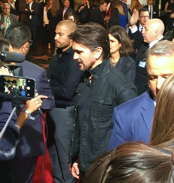 McFarland USA, Juanes, movie premiere