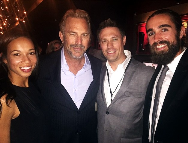 McFarland USA, Kevin Costner, movie, premiere, after party