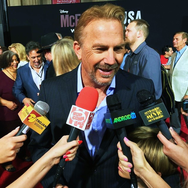 McFarland USA, Kevin Costner, movie, premiere