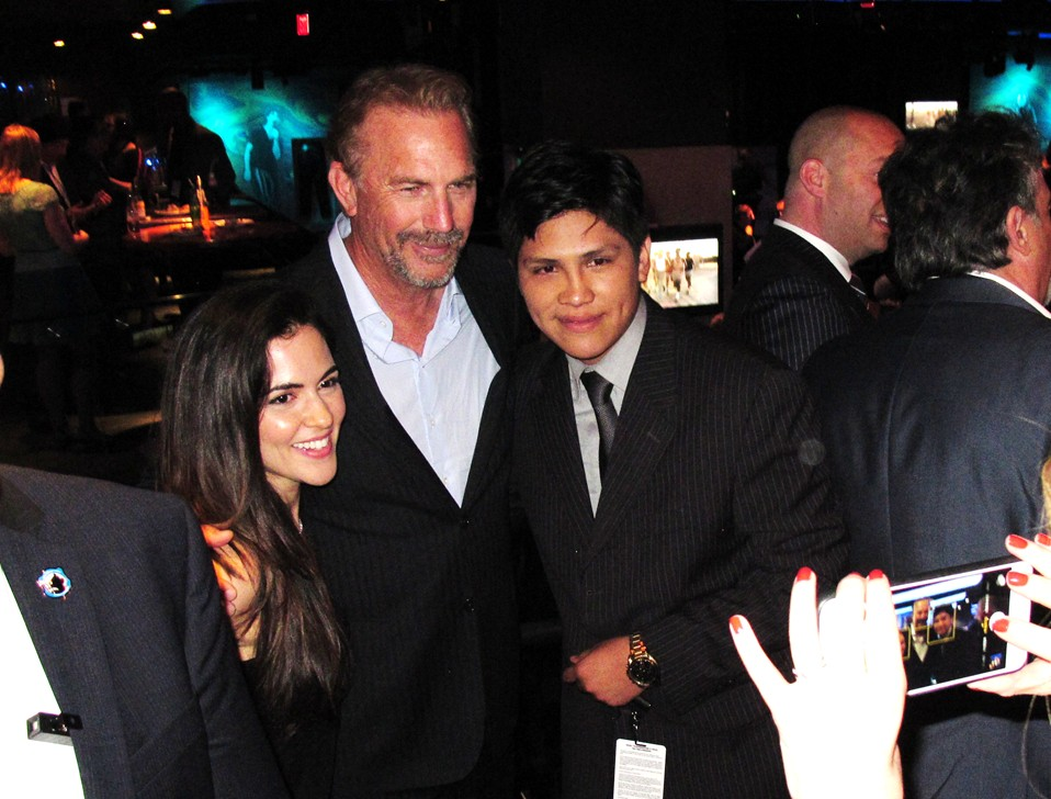 McFarland USA, movie premiere, Kevin Costner