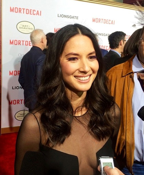 RED HOT ROSTER December Olivia Munn