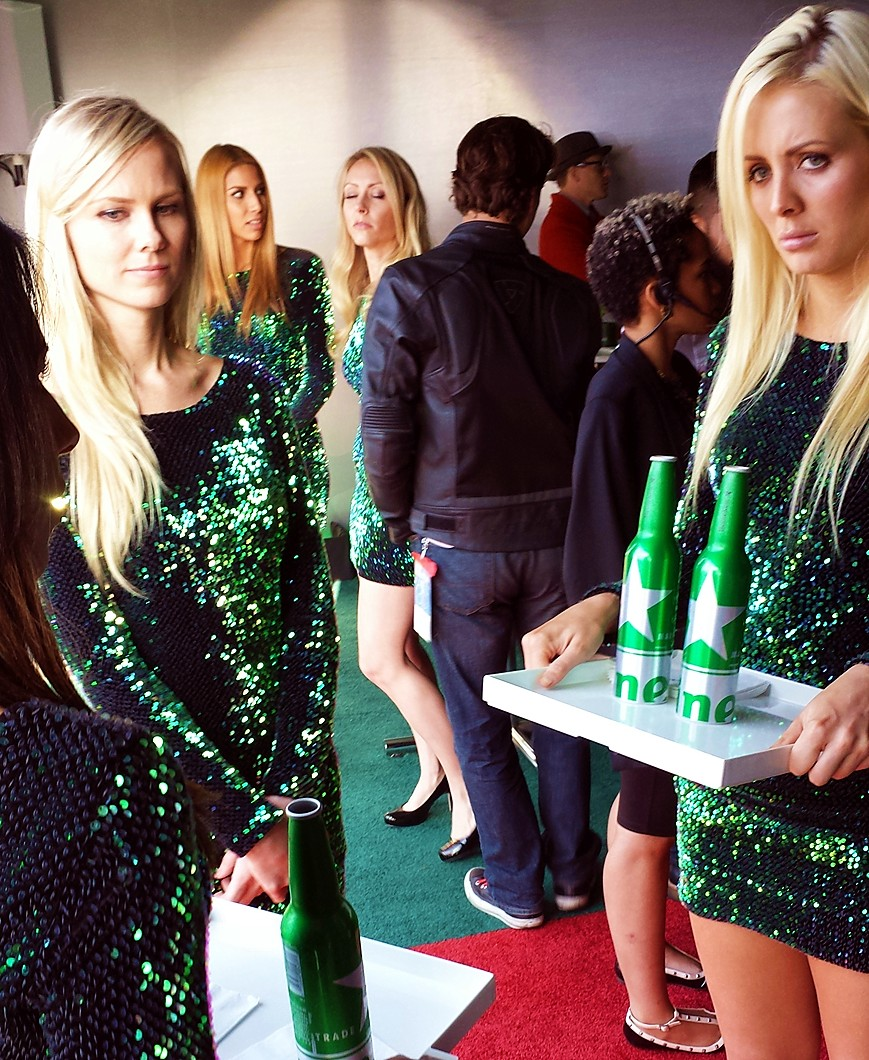 Spirit Awards, Heineken Tent