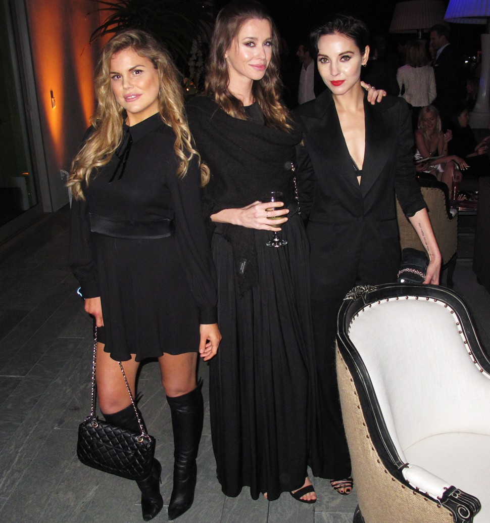 Treats Oscar party, Rosalind Lipsett, Holly Parker