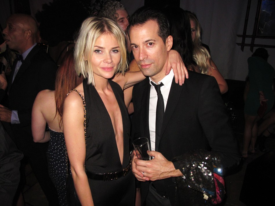 Warner Music Group Grammy party, Aníta Briem, Constantine Paraskevopoulos