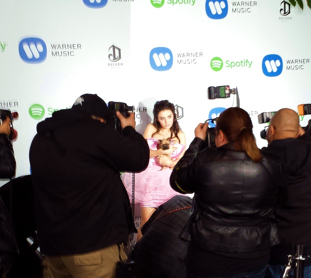 Warner Music Group Grammy party, Charli XCX