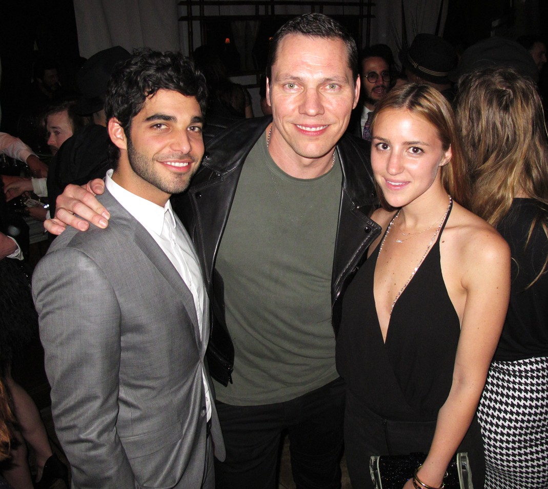 Warner Music Group Grammy party, Tiesto
