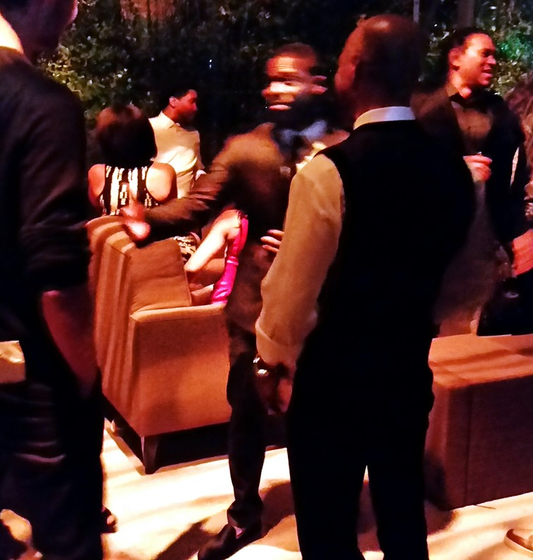 Get Hard, Kevin Hart, after party
