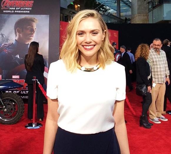 Avengers Age of Ultron, Elizabeth Olsen