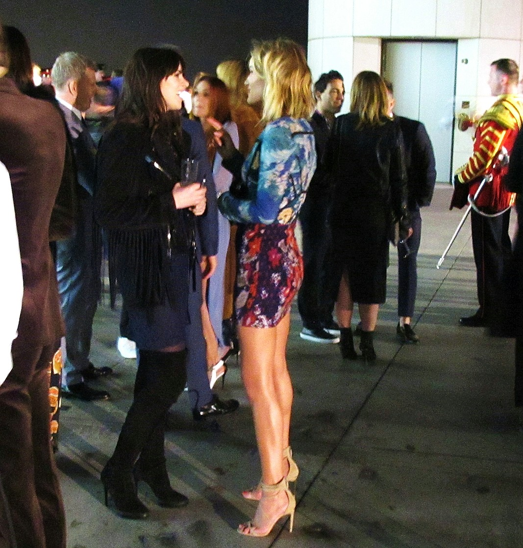 Burberry London in Los Angeles, supermodel, Rosie Huntington-Whiteley