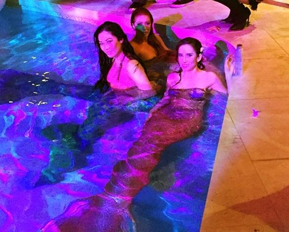 Dan Bilzerian, mermaids