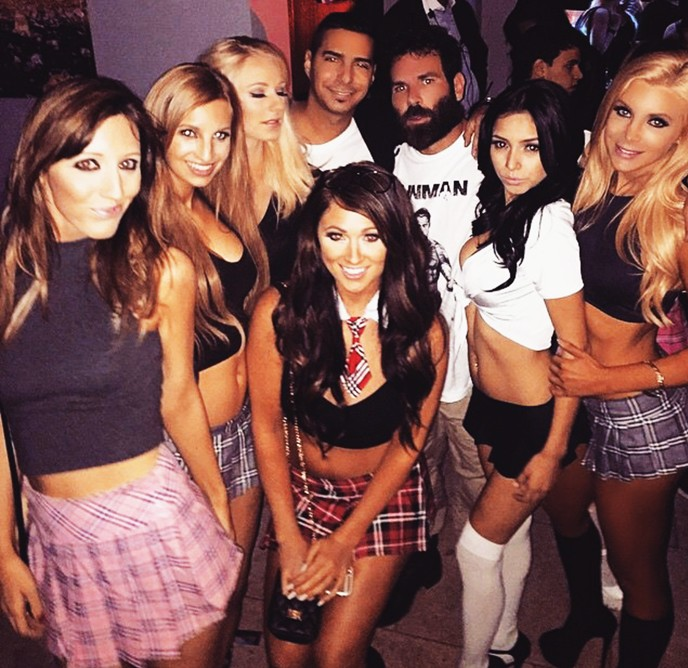 Dan Bilzerian, party, Giraffe