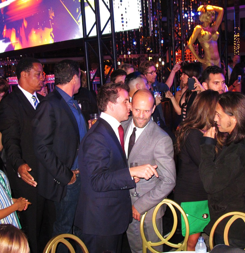 Furious 7, Jason Statham, after party