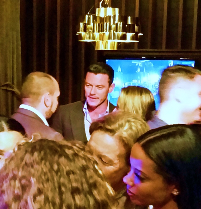 Furious 7, Luke Evans, after party, premiere