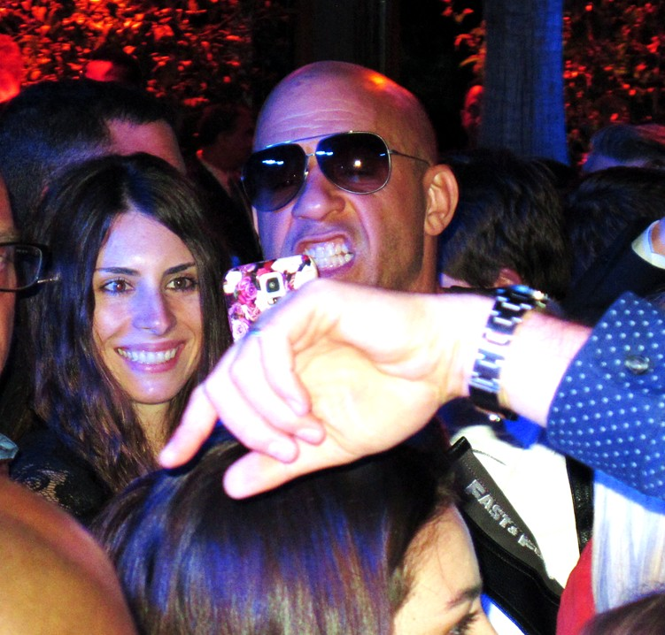 Furious 7, Vin Diesel, premiere, after party