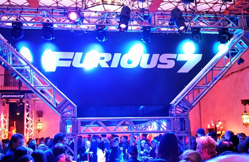 Furious 7, premiere, after party, Hollywood