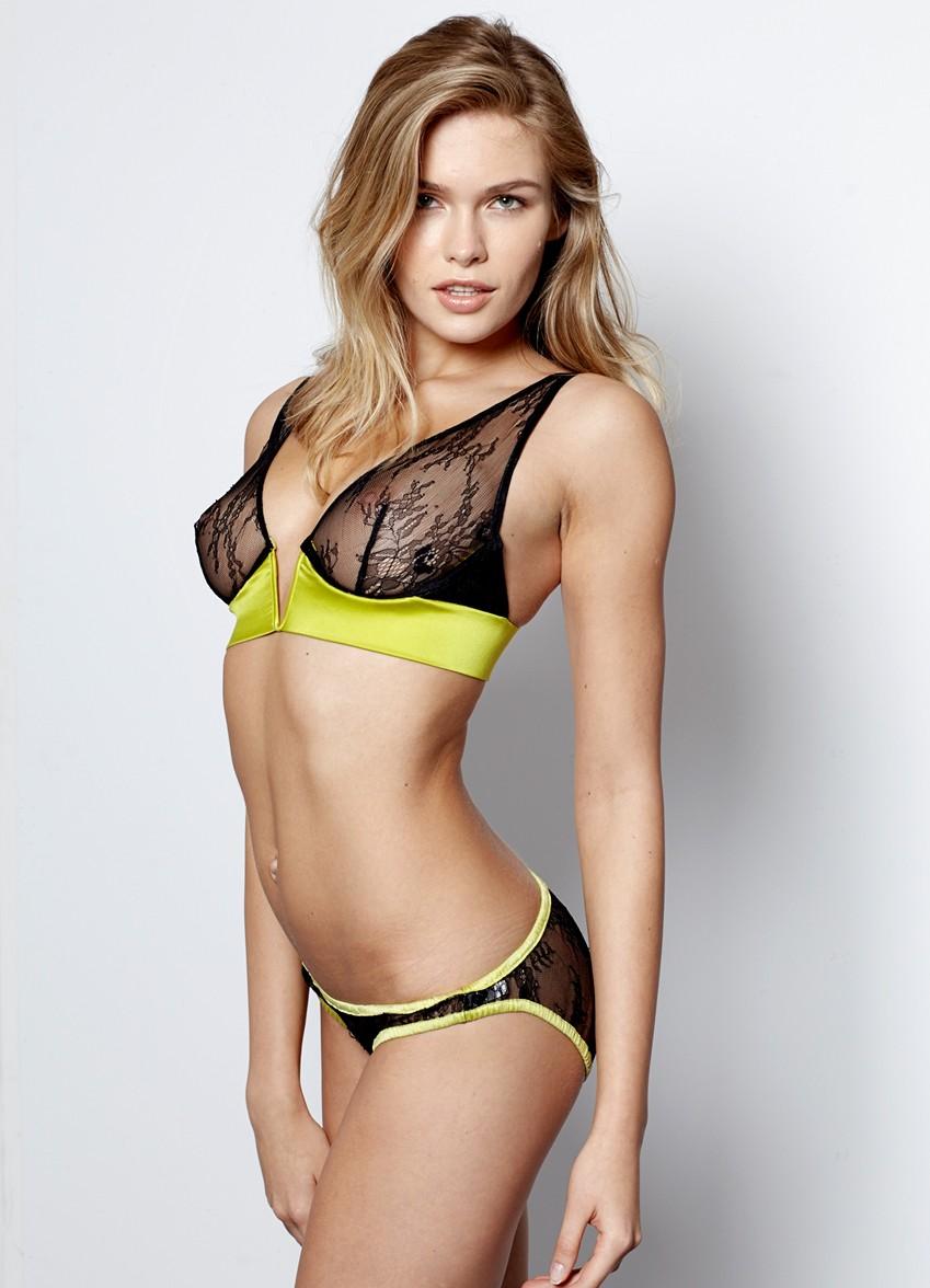 Lada Kravchenko, lingerie, sexy, model