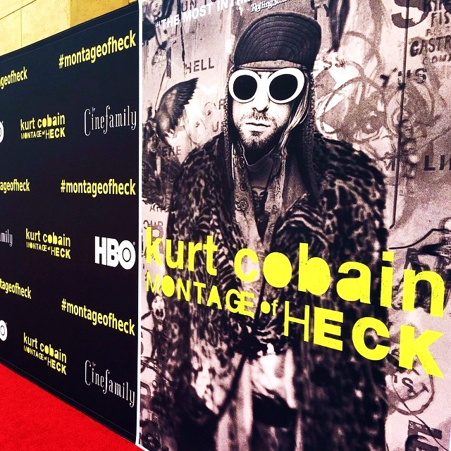 Montage of Heck, Kurt Cobain, poster