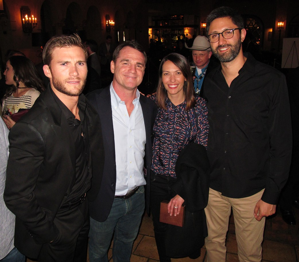 The Longest Ride, Scott Eastwood, movie, after party