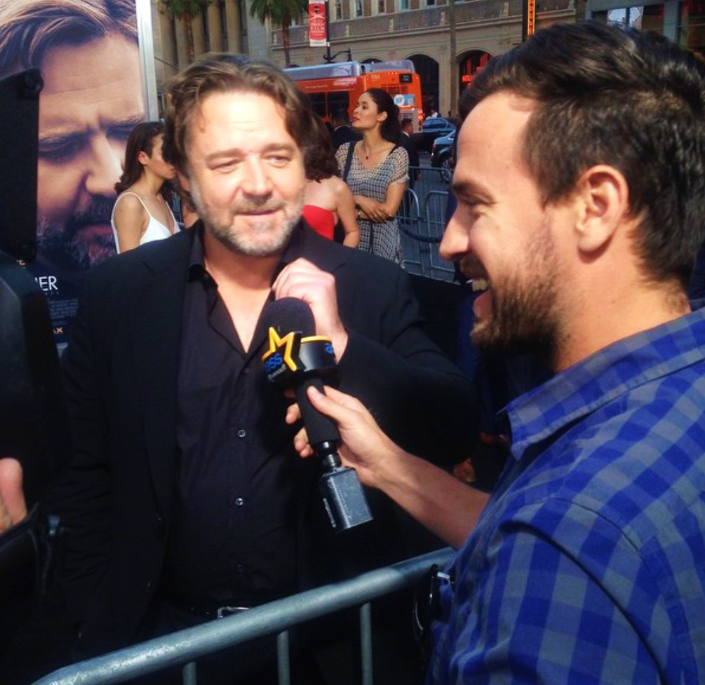 The Water Diviner, Russell Crowe, movie premiere