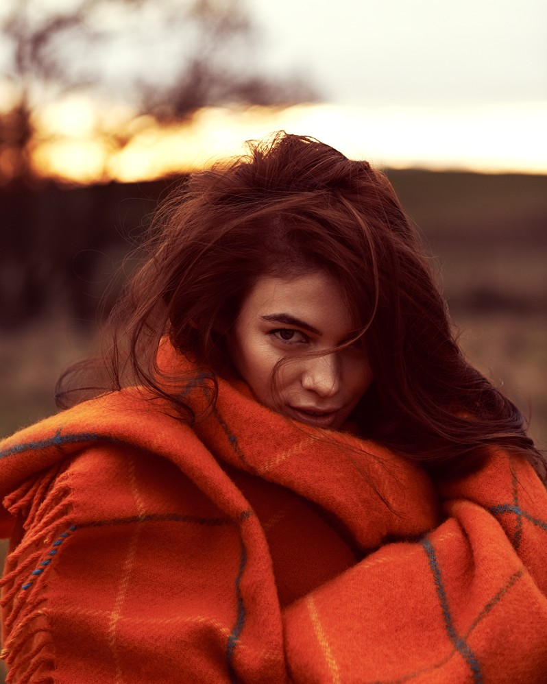 Iulia Cirstea, model winter