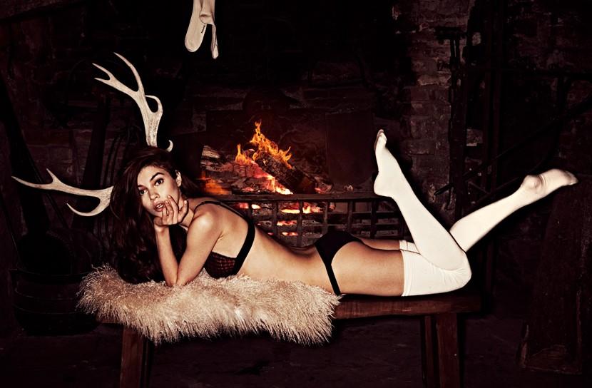 Iulia Cirstea, sexy socks