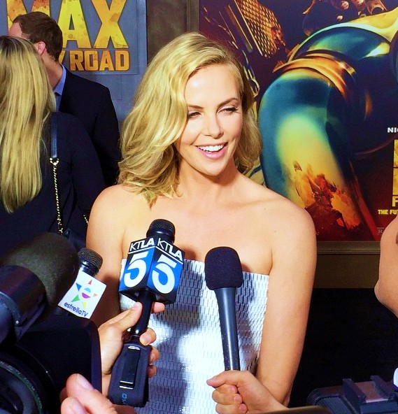 Mad Max Fury Road, Charlize Theron, red carpet