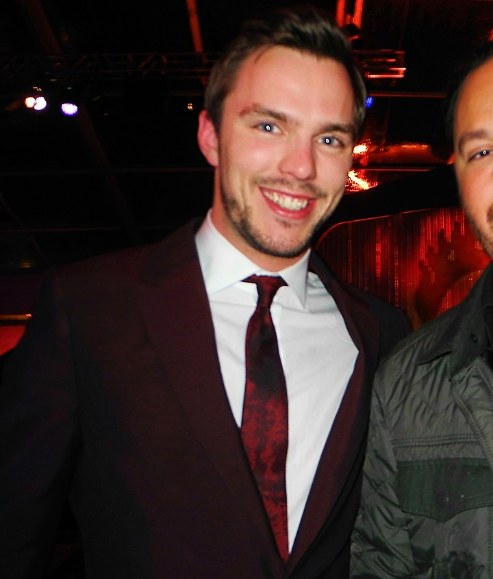 Mad Max Fury Road, Nicholas Hoult, after party