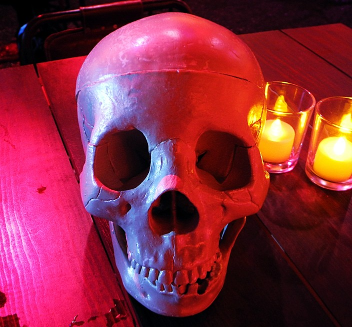 Mad Max Fury Road, after party, skull