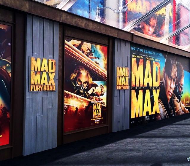 Mad Max Fury Road, black carpet, red carpet