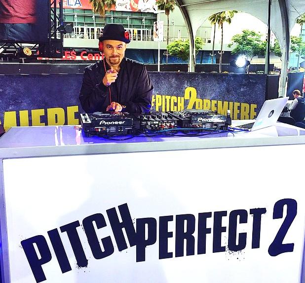 Pitch Perfect 2, pre party, premiere