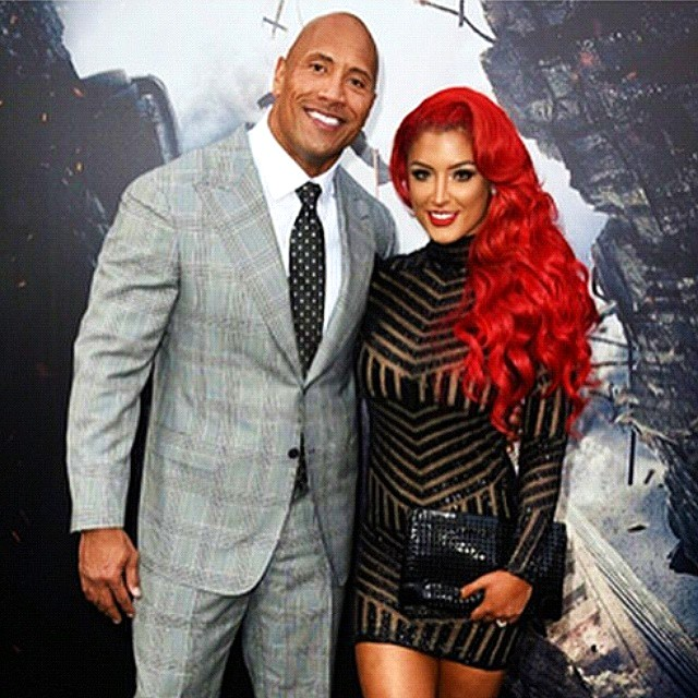 San Andreas movie, Dwayne Johnson, The Rock, Eva Marie