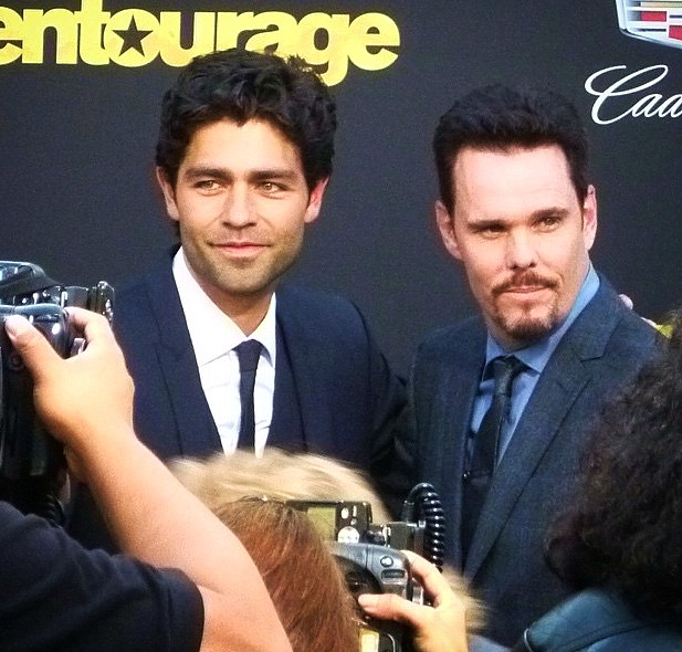 Entourage, movie, premiere, Adrian Grenier, Kevin Dillon