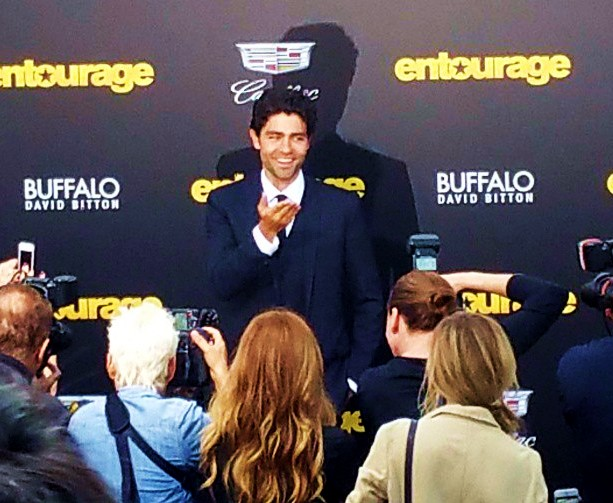 Entourage, movie, premiere, Adrian Grenier